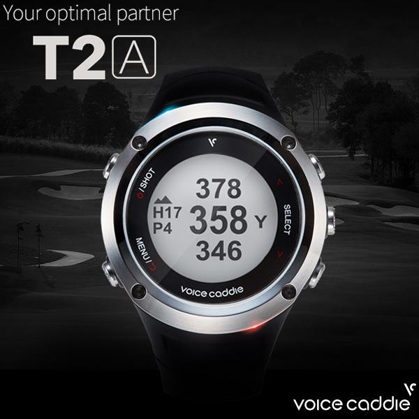 ボイスキャディ 腕時計型 GPS ゴルフナビ T2A