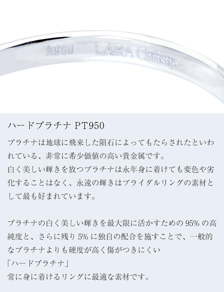ハードプラチナ Pt950の素材説明